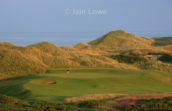 Cruden Bay 6th green - Cruden Bay