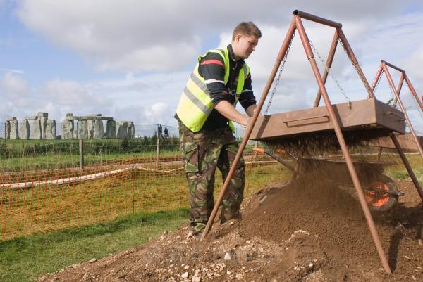 Sifting Soils - Henge Diggers