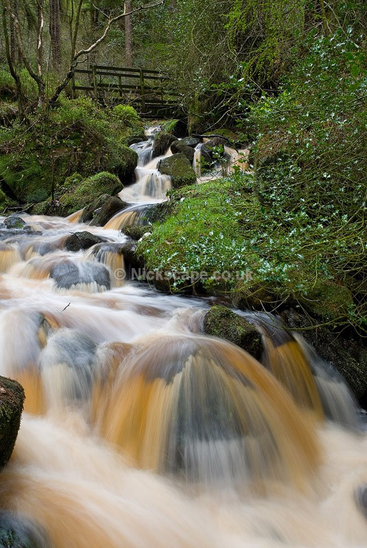 Wyming Brook Waterfalls in Summer - Sheffield, UK - Peak District Landscape Photography Gallery