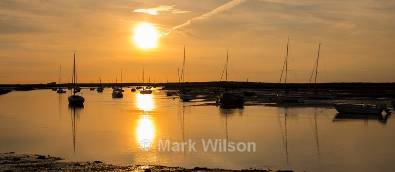 Brancaster sunset - Land and seascapes