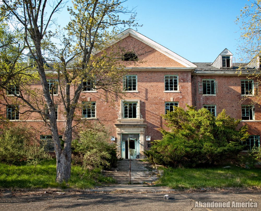 Henryton State Hospital | Administration Facade - Henryton State Hospital