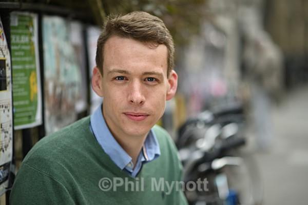 DR JAKE BRADLEY William Cook Fellow in Economics  portrait UK Cambridge