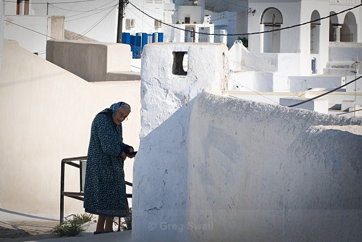 Life in Pyrgos - Santorini Greece (Thira)