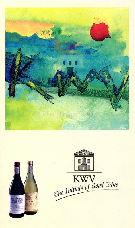 KWV Wines - Design Wine Campaigns