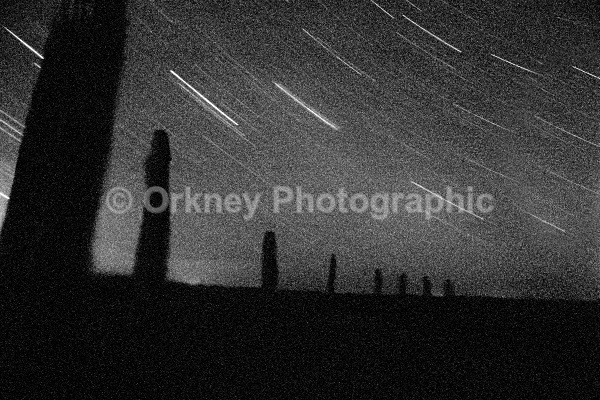 Ring of Brodgar stars - Orkney Images