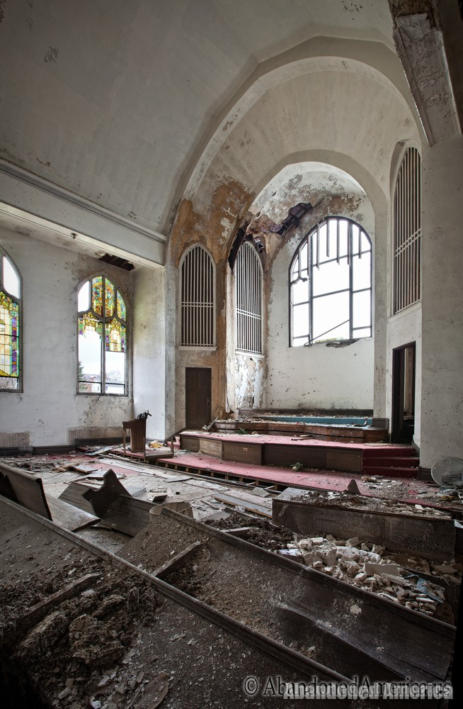 undisclosed church | Matthew Christopher's Abandoned America