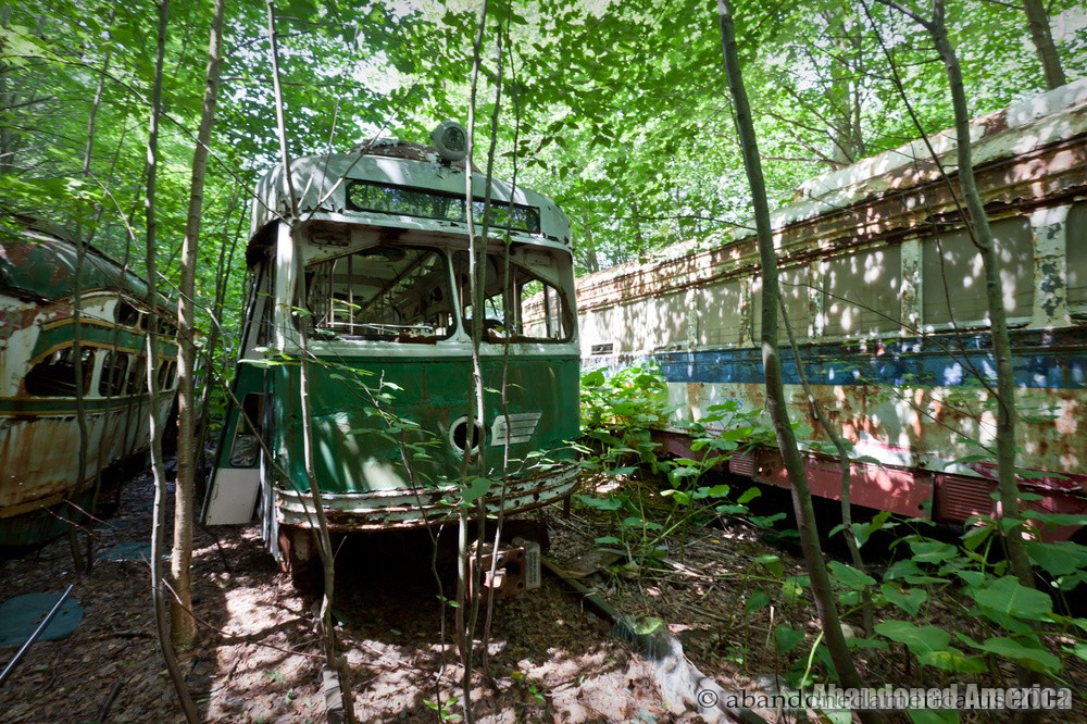 Trolley Graveyard | even if it is the end - The Trolley Graveyard