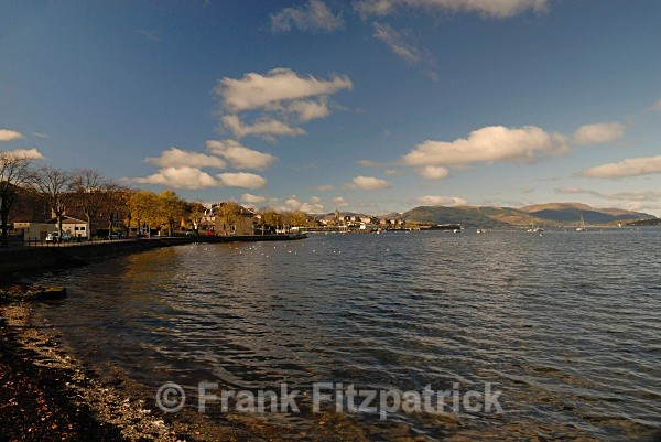 Gourock, Inverclyde. - Scottish scenics