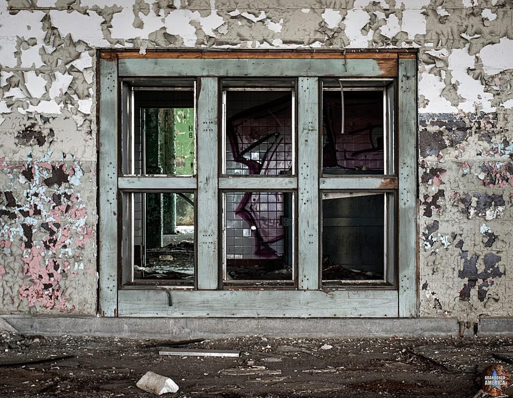 Fisher Body Plant 21 (Detroit, PA) | Interior Window - Fisher Body Plant 21