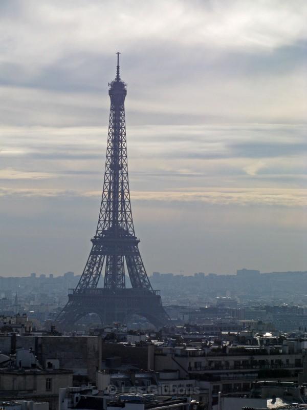 Eiffel tower dusk - Paris