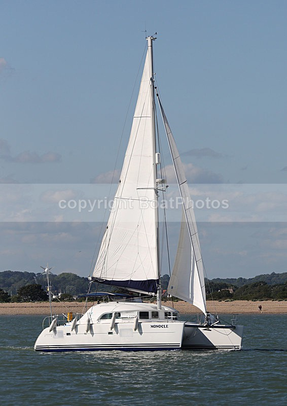 140525 MONOCLE LAGOON  WT7A3340 - Sailboats - multihull