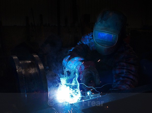 Mig Welder 01 - Industrial Welding