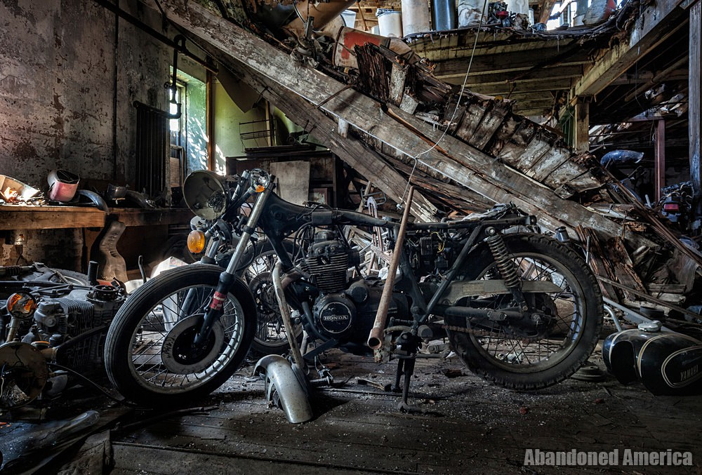 Kohl's Motorcycle Graveyard (Lockport, NY) | Honda Motorcycle - Kohl's Cycle Sales