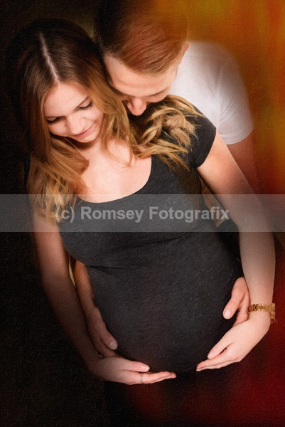 dn 22 painting effect - MATERNITY