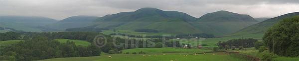 Durisdeer Valley - Panoramics
