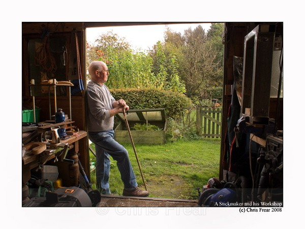 One Man and his workshop - People Portraits