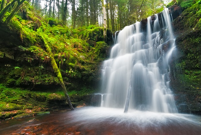 Welsh Waterfall | Tal-y-bont Brecon Beacons Wales