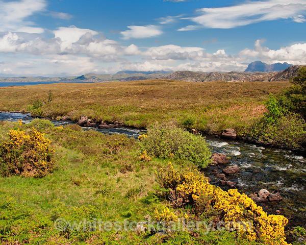 View Towards Achiltibuie - Scottish Highlands