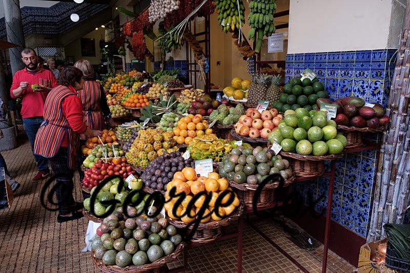 Workers Market Funchal - Mercado Dos Lavradores - Madeira
