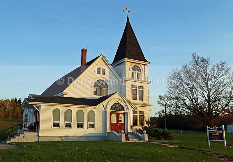 Sacred Heart Church, Norton New Brunswick Canada - Churches of New Brunswick