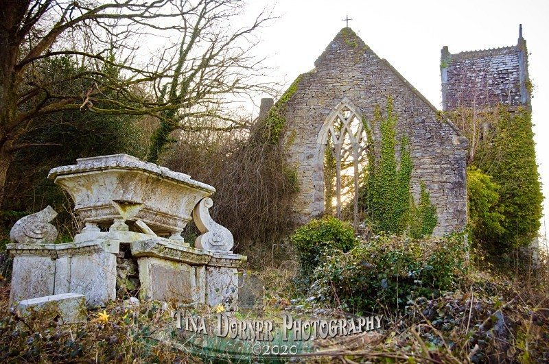 Old Parish Church and Tomb, Tintern by Tina Dorner Photography, Forest of Dean and Wye Valley, Gloucestershire