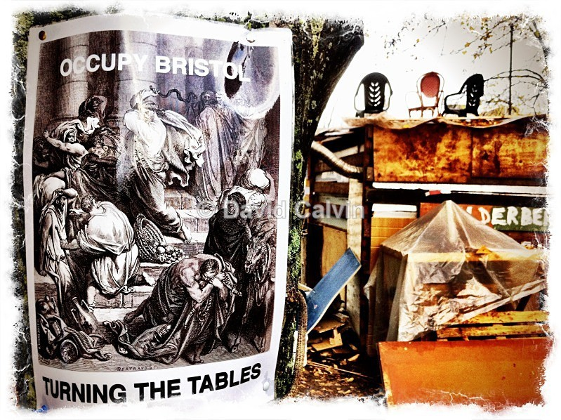 Turning The Tables - Occupy Bristol