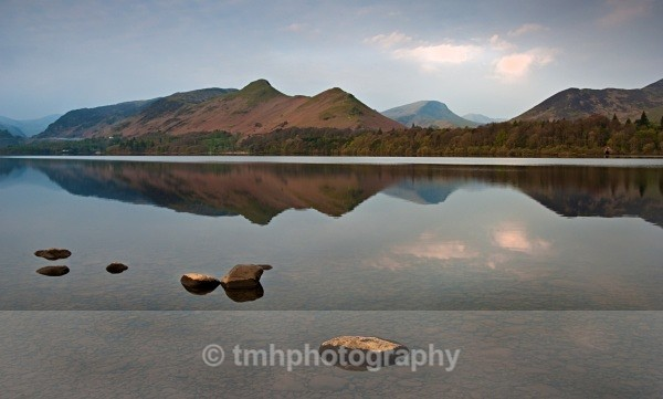 Catbells in morning light. - Lakedistrict
