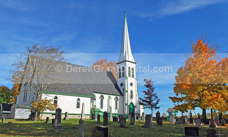 St. Paul's Anglican Church ~ Hampton,New Brunswick Canada - Churches of New Brunswick