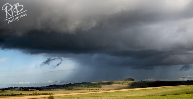 Storm over Furze Knoll - Wiltshire & West Country Landscapes
