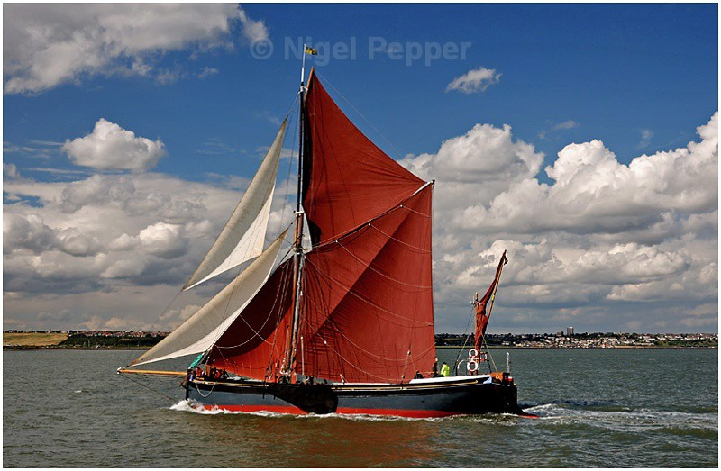 SB Marjorie (1) - The Thames Barge Match