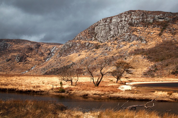 Glenveagh Waterfall - Landscapes of Ireland - County Donegal and the Wild Atlantic Way
