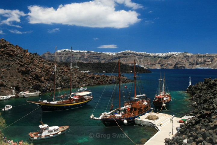 Thira Caldera - Santorini Greece (Thira)