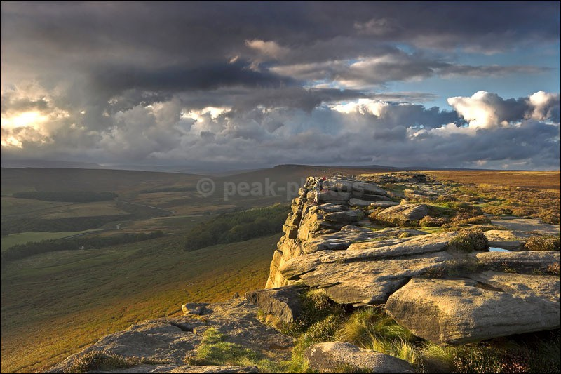 Stanage Storms - Peak District | Dark Peak