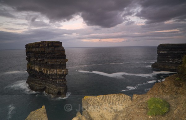 Dun Briste, Downpatrick Head, Co. Mayo, Ireland.