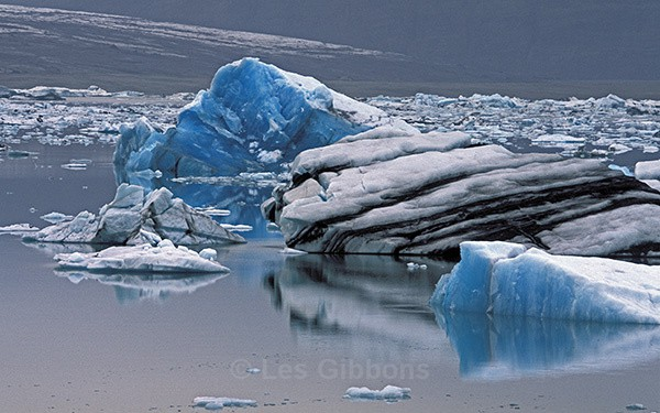 Jokulsarlon - Iceberg group - South and Central highlands