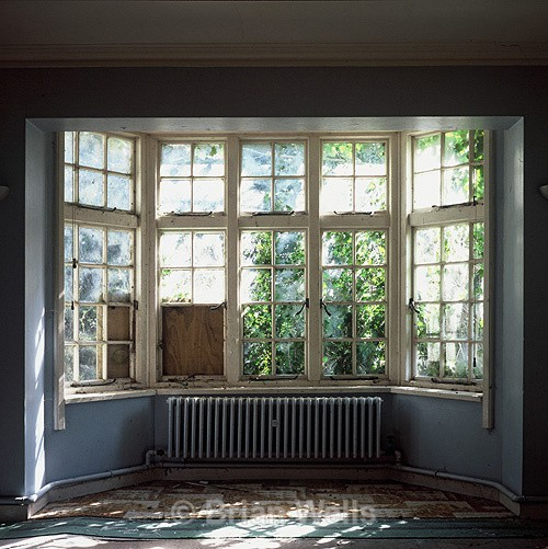 Radiator below Window - Windows and Doors/ Curtains and Wallpaper