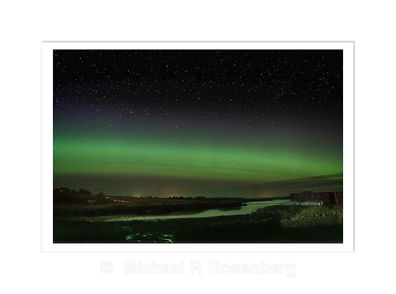 Aurora Borealis , Lochmaddy, North Uist Scotland - Scotland, UK
