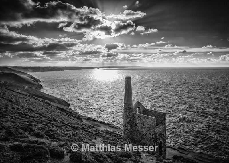 Wheal Coates West BW - Landscapes