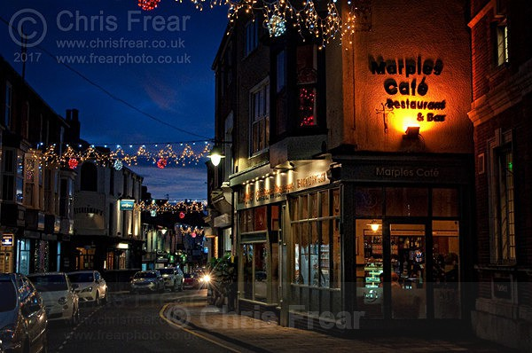Marples Tearoom - Nocturnal Townscapes