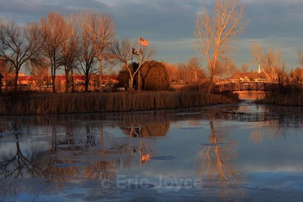 Winter reflections - Marshall, Minnesota