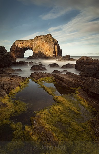 The Great Pollet Arch, Co. Donegal, Ireland.