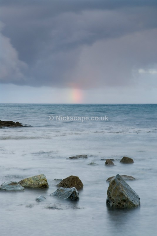 Stormy Seascape from Marazion | Cornwall Coastal Photography