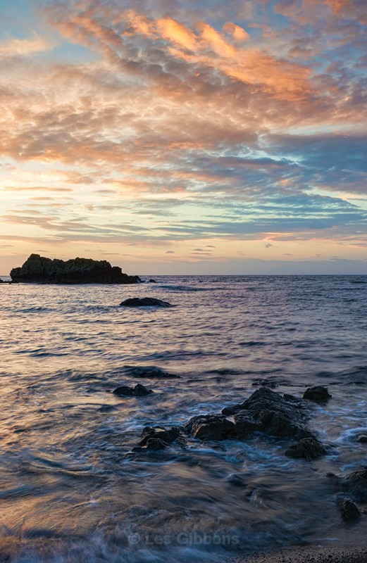Sunset at Dunure - Ayrshire