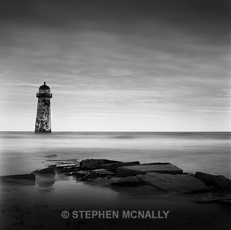 Talacre Lighthouse - Images made on Film