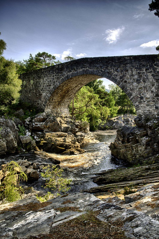Little Garve Bridge - Landscapes