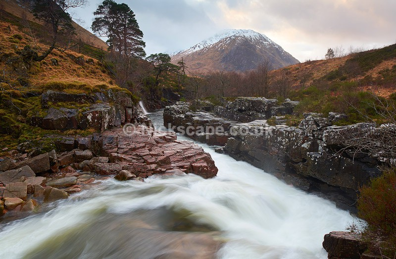 Waterfall at Glen Etive | Photography from the Scotish Highlands