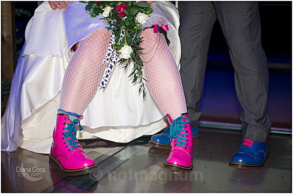 colourful boots - WEDDING & SOCIAL