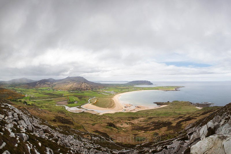 The View from Binnion Hill, Inishowen, Co. Donegal - Ireland by Day
