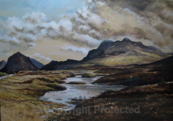 The Cuillins, Isle of Skye - Latest work