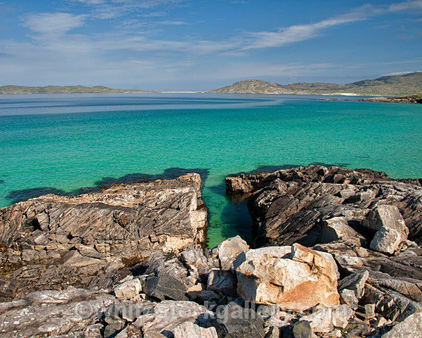 Turquoise Coast, Harris - Scottish Highlands
